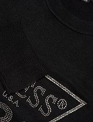GUESS Jeans - AURELIE CUT OUT SWEATER - pulls - jet black a996 - 2