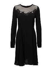 LAVINIA DRESS - JET BLACK