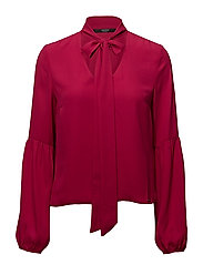 S HAZEL TOP - CANDY APPLE PINK