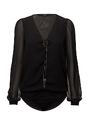 LS CONCETTA BODY TOP - JET BLACK A996