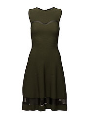 SL RN AUDREY SWEATER DRESS - DARK PINE