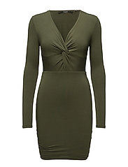 SAMANTHA DRESS - DARK PINE