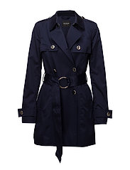 ESTELLA TRENCH - UNIFORM BLUE