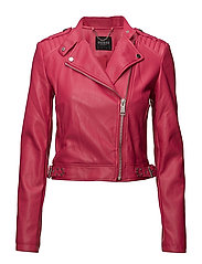 ELEONORA JACKET - WILDHEART RED