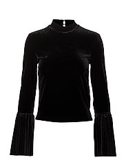 LS ISABEL TOP - JET BLACK A996