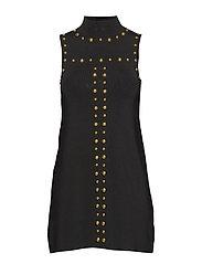 RONDA DRESS - JET BLACK A996