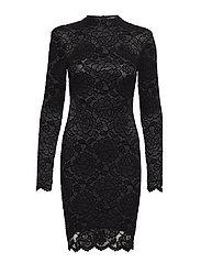 SIMONA DRESS - JET BLACK A996