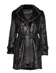 YOLANDA COAT - JET BLACK A996