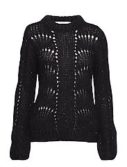 LS RN RITA SWEATER - JET BLACK A996