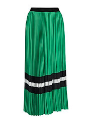 SAVINA SKIRT - GREEN BLACK WHITE