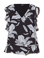 SS HOPE TOP - PASSION FLOWER BL