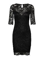 BONNIE DRESS - JET BLACK A996