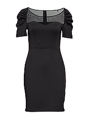 BRIANNA DRESS - JET BLACK A996