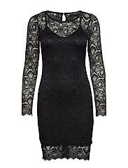 ESTHER DRESS - NOIR DE JAIS