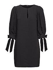 NISA DRESS - JET BLACK A996