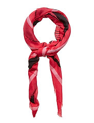 LOVE GUESS SCARF - LOVE PINK COMBO