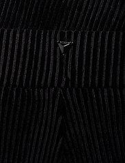 GUESS Jeans - AMBER PANTS - hosen mit weitem bein - jet black a996 - 3