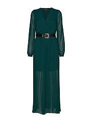 MAYA DRESS - NOCTURNAL GREEN