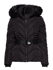 PETRA DOWN JACKET - JET BLACK A996