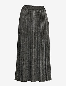 MARION SKIRT - BLACK AND SILVER