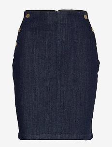 ULTRA MIDI SKIRT - jeansowe spódnice - be fine