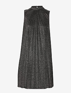 DIVA DRESS - BLACK AND SILVER