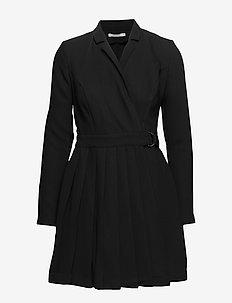 ALTAS DRESS - JET BLACK A996
