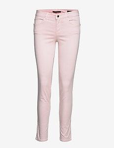 CURVE X - skinny jeans - pink resort