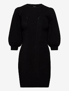 AMBER DRESS SWEATER - sweats - jet black a996