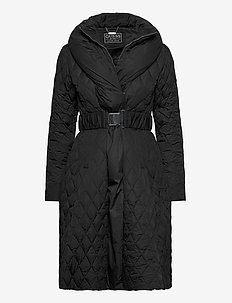 WALLIS LONG DOWN JACKET - steppjacken - jet black a996