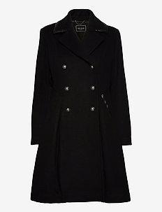 ROSSANA COAT - wełniane płaszcze - jet black a996