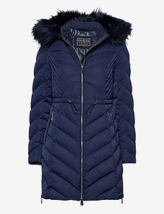 CHERYL DOWN JACKET - dynefrakke - blue jam