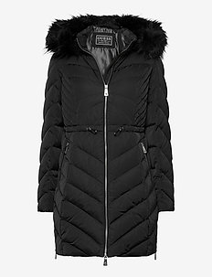 CHERYL DOWN JACKET - dunkåper - jet black a996