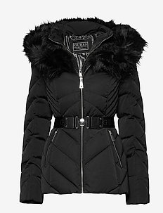 SARA SHORT DOWN JACKET - down- & padded jackets - jet black a996