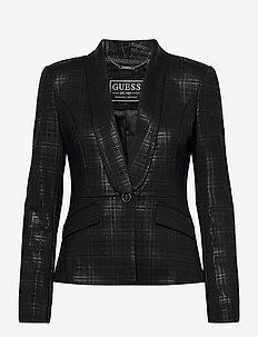 ROSY BLAZER - blazere - black check combo