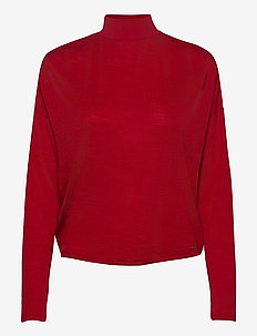 CHAHIDA TOP - strikkede toppe og t-shirts - red attitude