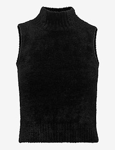 LORE TURTLE NECK SWEATER - veste - jet black a996
