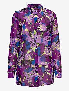 LS CLOUIS SHIRT - chemises à manches longues - abstract flower p