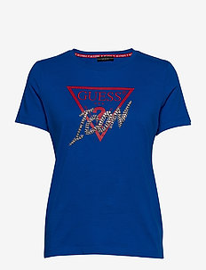 Guess ICON TEE - Topper langermet - blue navy