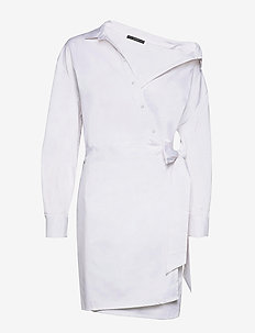 KARYDA DRESS - robes chemises - true white a000