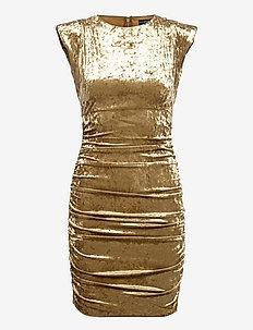 SL CHARLIE DRESS - etuikleider - bronzed green