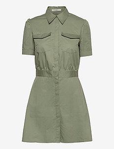 REYNA DRESS - sommarklänningar - army sage