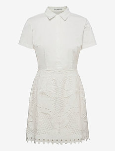 RITA DRESS - sommerkjoler - true white a000