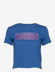 SS CN ADRIA TEE - t-shirts - thai sapphire