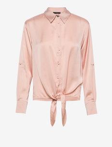 LS AMANDA SHIRT - långärmade skjortor - vapor rose