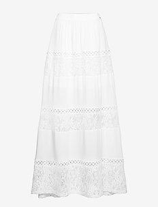 URSULA SKIRT - TRUE WHITE A000