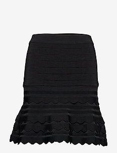ALEXIA SWEATER SKIRT - JET BLACK A996