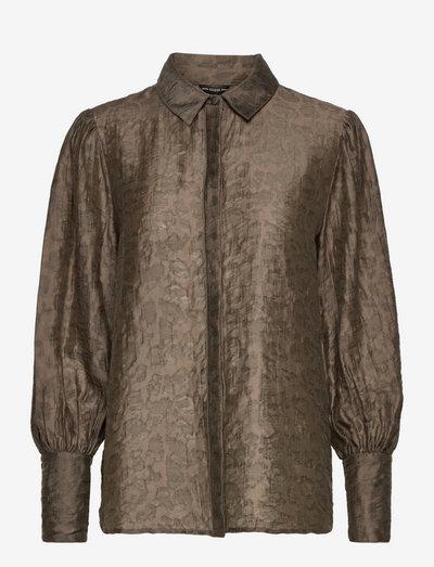 LS RAVEN BUTTON UP SHIRT - chemises à manches longues - asphalt green