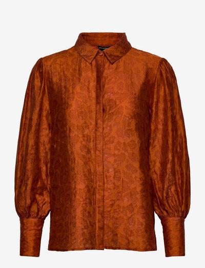 LS RAVEN BUTTON UP SHIRT - chemises à manches longues - ginger spice