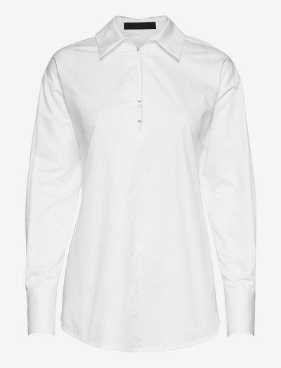 LS EMMA SHIRT - chemises à manches longues - pure white